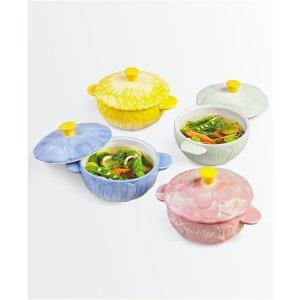 Martha Stewart Collection陶瓷锅具4件套