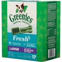 Greenies Large 清新口气狗狗洁牙棒 19根