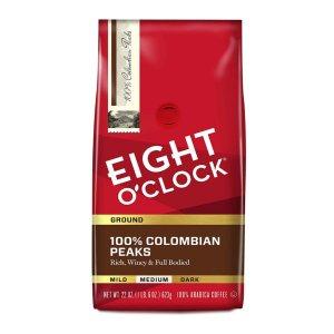 $5.70Eight O'Clock 研磨咖啡 22oz