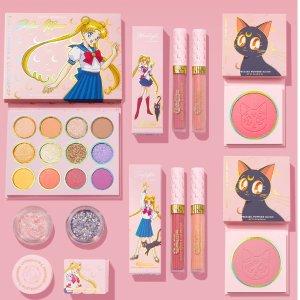 $12收珊瑚色腮红手慢无:Colourpop x Sailor Moon 美少女战士联名彩妆补货啦