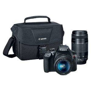 Black Friday Sale Live: Canon EOS Rebel T6 EF-S 18-55 with EF 75-300mm