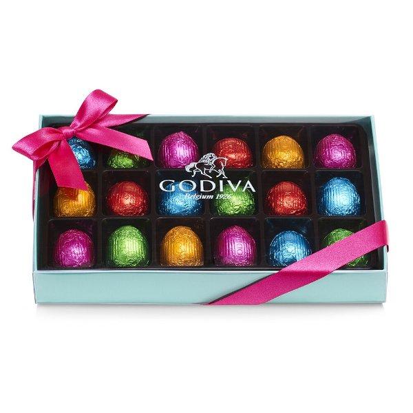 巧克力复活节彩蛋18颗礼盒