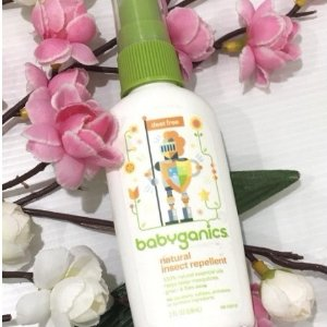 $4Babyganics Natural Insect Repellent, 2 oz, Packaging May Vary @ Amazon