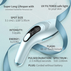 63% OffDealmoon Exclusive: DEESS LATEST ICE COOL Plermanent Hair Removal System Home Use Sale