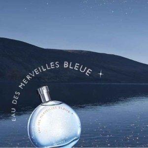 满£60减£10 £63收蓝色橘彩星光Hermès 香水闪促 许你一场独特的芳香盛宴