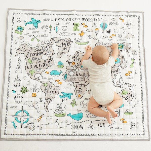 宝宝爬行垫,装饰地毯