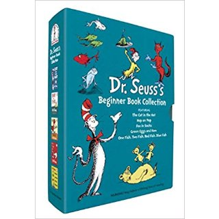 低至4折Dr. Seuss's 多款硬壳绘本促销 英语启蒙,学习Phonics必备