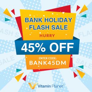 全场低至5.5折Vitamin Planet 银行假日全场闪促