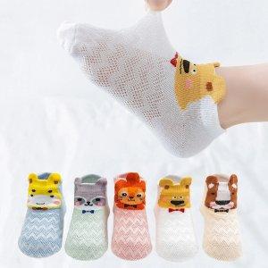 小动物袜子 5包装