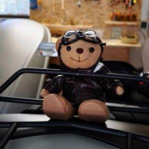 20cm仅€8.92人见人爱的Pilot Bear! 给孩子的圣诞礼物!