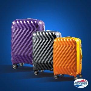 买1送1+无门槛包邮即将截止:American Tourister 美旅官网行李箱特卖,硬壳箱低至$50
