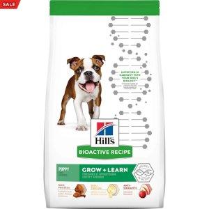 HILL'S首单订阅5折Hill's 幼犬鸡肉糙米狗粮 11 lbs.