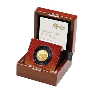 The Royal Mint1/4盎司金币