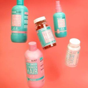 独家8折 6款产品热卖中Hairburst官网全能套盒上新!内外兼修治愈脱发呵护秀发