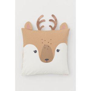 H&M麋鹿抱枕