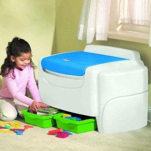 $89.99(原价$153.33)史低价:Little Tikes 儿童玩具收纳箱,妈妈们快看过来