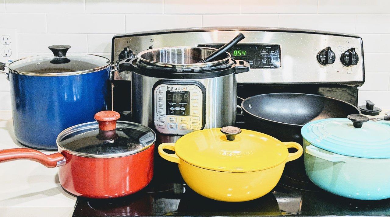 厨房必备锅具走心测评 | Instant Pot /铸铁锅/炒锅/汤锅都有(附食谱+不粘锅/不锈钢锅材质分析)