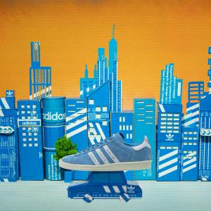 低至5折adidas 折扣蓝色专区 显白必备 冰蓝、雾霾蓝、克莱因蓝