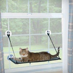 K&H Pet ProductsEZ Window Mount Kitty Sill, Gray - Chewy.com