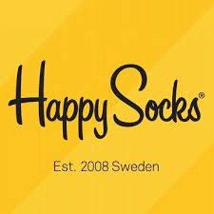 5折起 低至€4.98可收法国打折季2021:Happy Socks 夏促 超值收古灵精怪的彩色袜