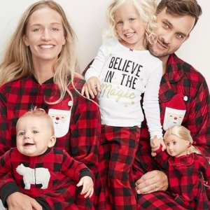 50% Off + Extra 20% Off $40+Carter's Holiday Pajamas, Includes Adults and Dolls Sizes