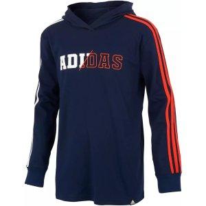 AdidasBoys' 3-Stripes Collegiate Hoodie