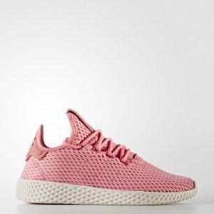 低至$29.99 + 免邮 4色史低价:adidas X Pharrell Williams联名TENNIS HU大童款