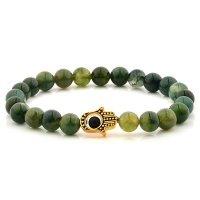 绿色珠珠手链