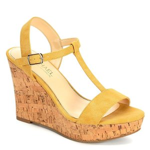 YELLOW MICHAEL BY MICHAEL SHANNON Womens Libby