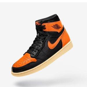 美东9点  加入Sneakers Club即可参与Luisaviaroma Air Jordan 1 扣碎 28日发售
