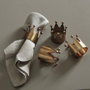 Crown 餐巾饰品4件套