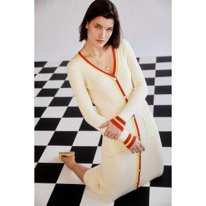 XLPerle 针织长裙