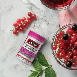 低至4折 蔓越莓90粒囤Swisse 精选保健品热卖 保养从现在开始