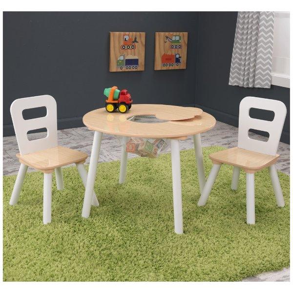 桌子+2把座椅