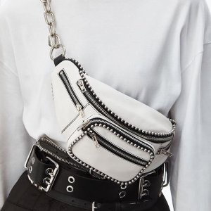 Alexander Wang- Attica Soft Leather Belt Bag