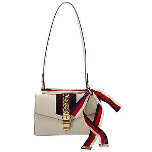 81d9f53f7 GucciSylvie Small Leather Shoulder Bag