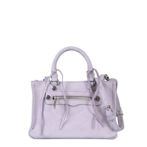 Rebecca MinkoffREGAN SATCHEL LEATHER BAG