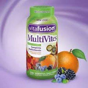 低至$5.44起 收维生素软糖Vitafusion 成人维生素营养软糖 多款可选