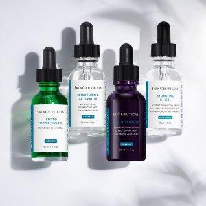 8.5折+满送晚霜 套装区6折起最后一天:SkinCeuticals 全场热卖 收B5精华、紫米抗老系列