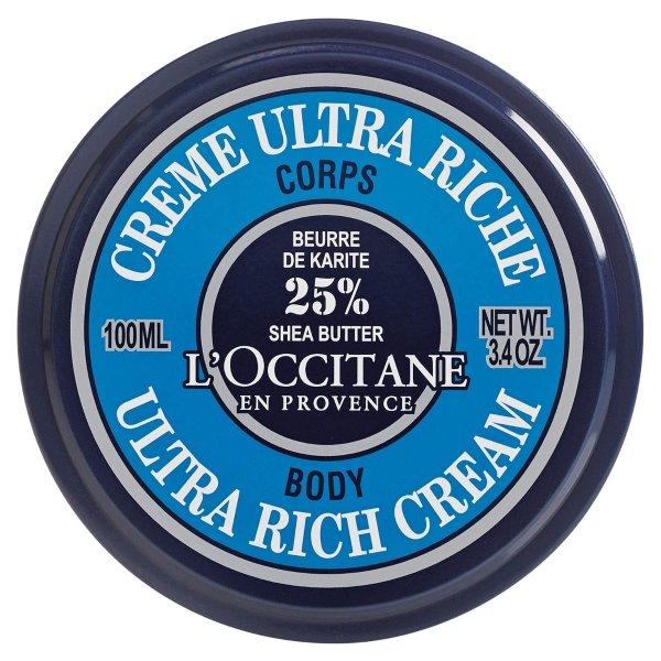 乳木果丰凝润肤霜 3.4 oz