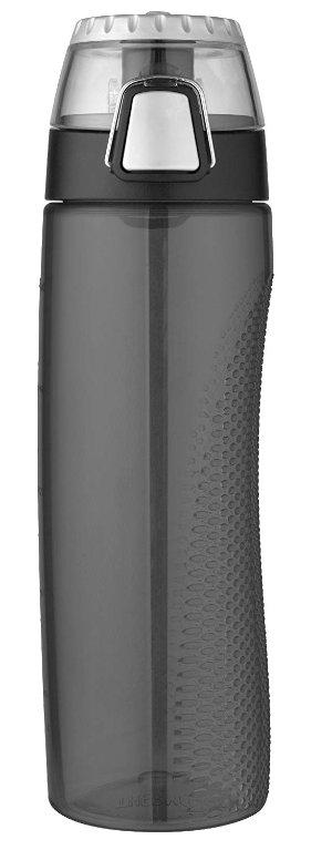 $8.97 (原价$18.69)史低价:Thermos 膳魔师24盎司带刻度防漏水杯,烟灰色