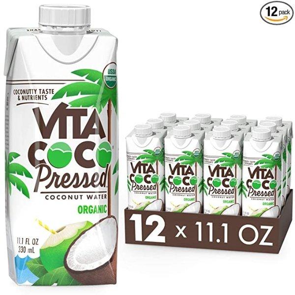 Vita Coco 鲜榨浓缩椰子水 11.1oz 12瓶装