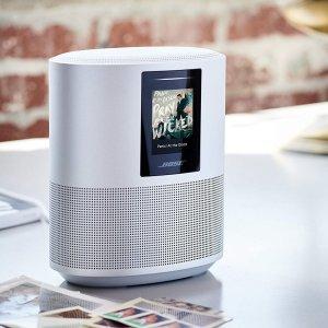 对抗HomePod Alexa智能音箱Bose Home Speaker 500 支持Alexa助手 黑白双色可选