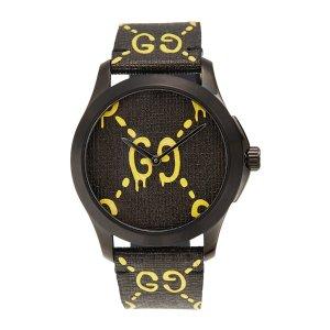 GucciGG 涂鸦款手表