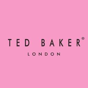 低至5折 €24收蝴蝶结手提包Ted Baker官网 夏季大促 收碎花蕾丝裙 美美英伦低调奢华风