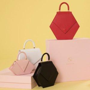 满额全场8折+全球包邮独家:Nina Hauzer 美包美鞋专场,来自西班牙的手工皮具