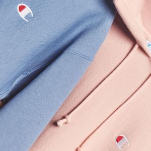 3折起 Logo短袖£19收上新:Champion 大促区超强上新 超多颜色卫衣、T恤等你来收