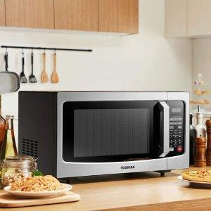 Toshiba EM131A5C-BS Microwave Oven with Smart Sensor