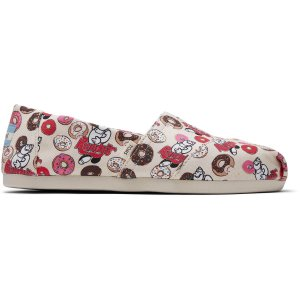 TomsNatural Randys Donut Print Women's Classics ft. Ortholite