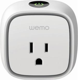 $24.99 (原价$44.99)WeMo Insight Plug Wi-Fi 智能插座